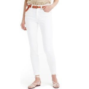 Jcrew highrise jeans